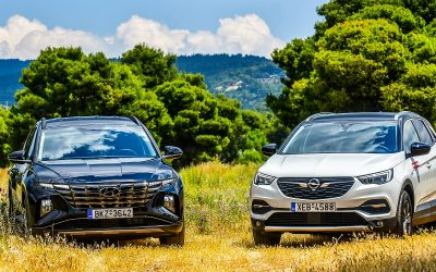 Hyundai Tucson vs Opel Grandland X