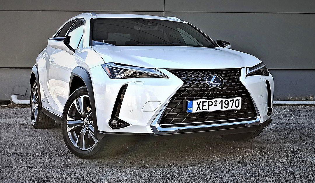 Το ηλεκτρικό Lexus UX300e