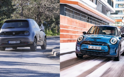 Δοκιμή MINI Cooper SE vs HONDA e: Διάλεξε ηλεκτρικό!